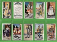Tobacco cigarette cards Gilbert & Sullivan 1927 set